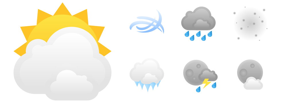 MSN Weather Icons 01